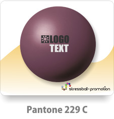 Anti Stress Ball Pu Bälle Farbe Bordeaux Pantone 229 C