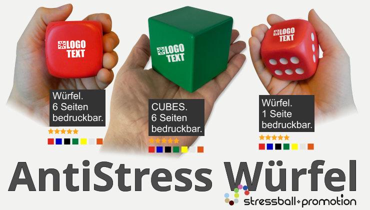 stressball promotion antistressball w rfel. Black Bedroom Furniture Sets. Home Design Ideas