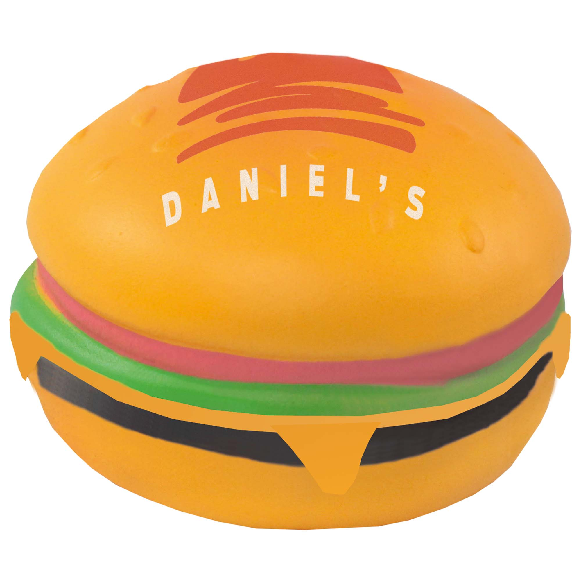 Anti Stress Ball Hamburger bedrucken