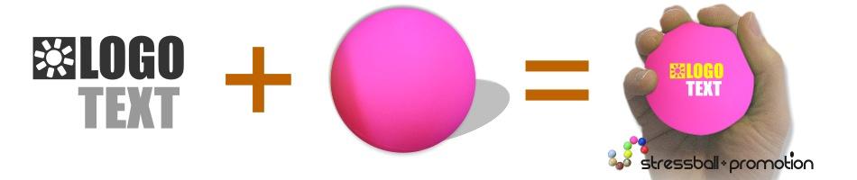 Unbekannt M/ännchen Stressball in pink Antistressball Knautschball Knetball