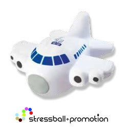 Bild Anti Stress Ball Antistress Flugzeug