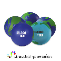 Bild Anti Stress Ball Antistress Globus