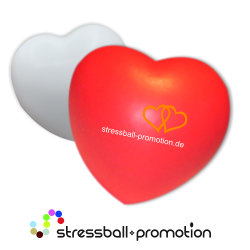 Bild Anti Stress Ball Antistress Herz rot