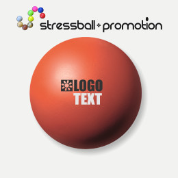 Antistressbälle Wutball Bild Farbe Warm Red