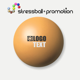 Antistressball Ball Farbe gelb orange Pantone 1355 C