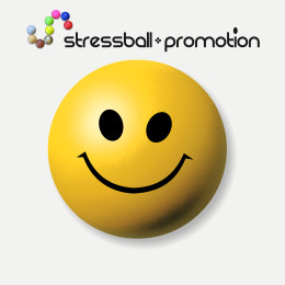 Stressball Bild Smileyball Smiley Smili gelb